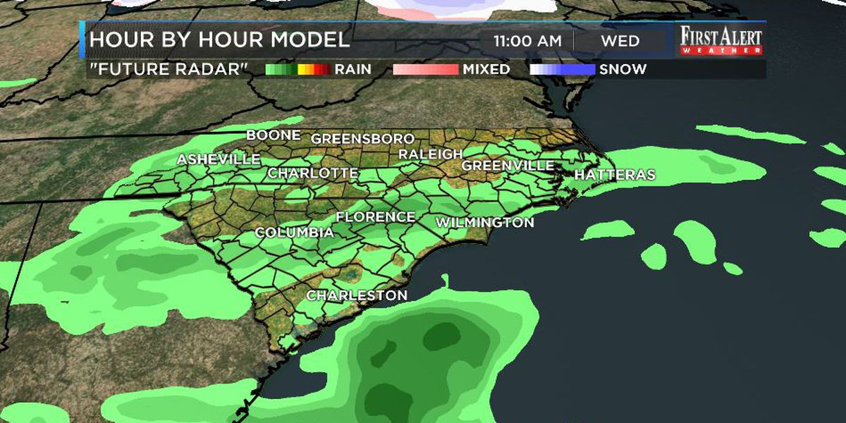 First Alert Forecast: 0% rain chances to hang on for a bit longer...