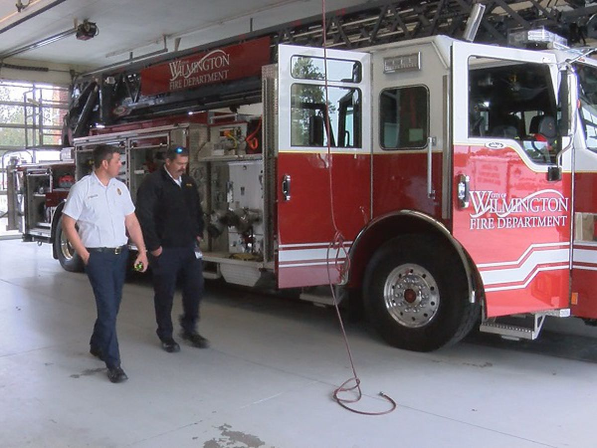 Wilmington Fire Department rolls in new engine