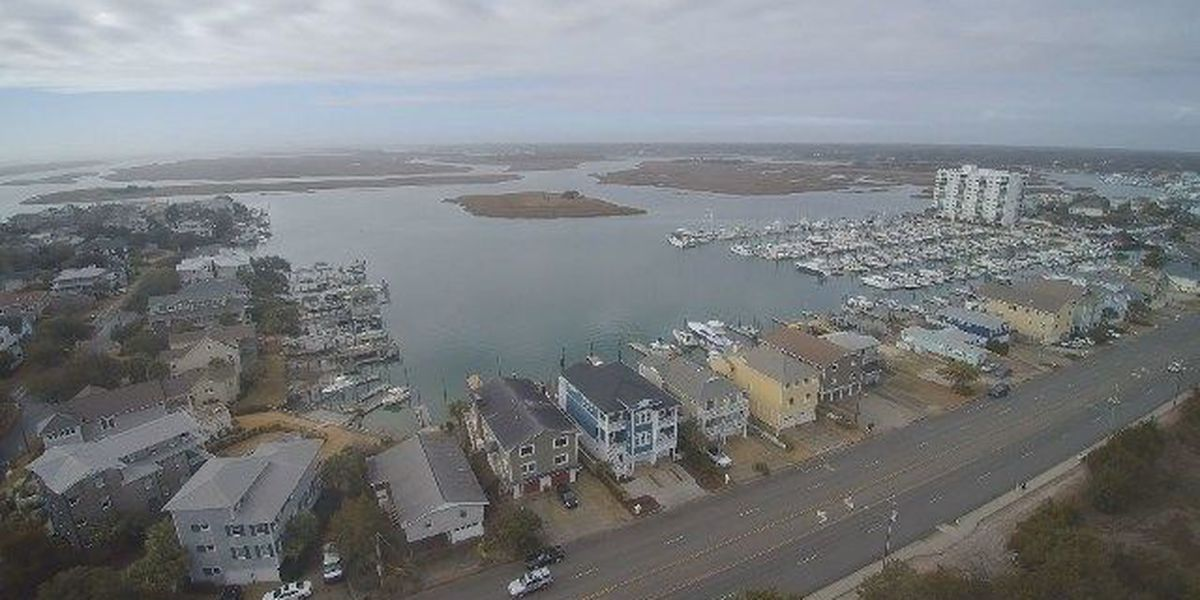 SKY TRACKER: Beauty shots of the intracoastal waterway in Wrightsville Beach