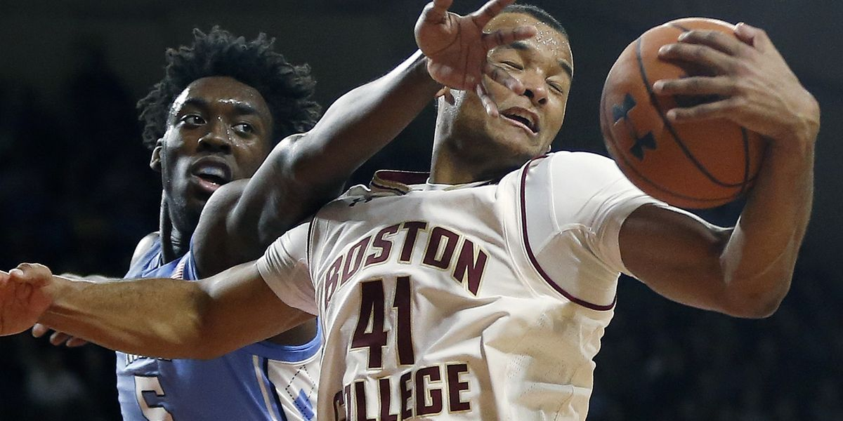 No. 3 North Carolina beats Boston College