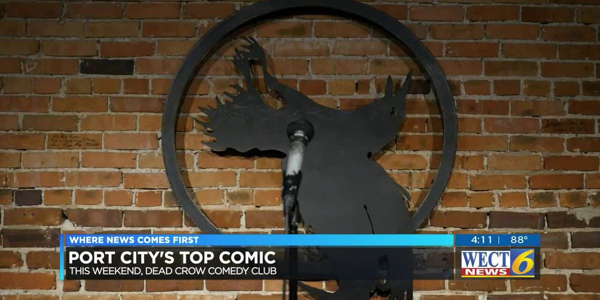 Comedians compete for the title of Port City's Top Comic