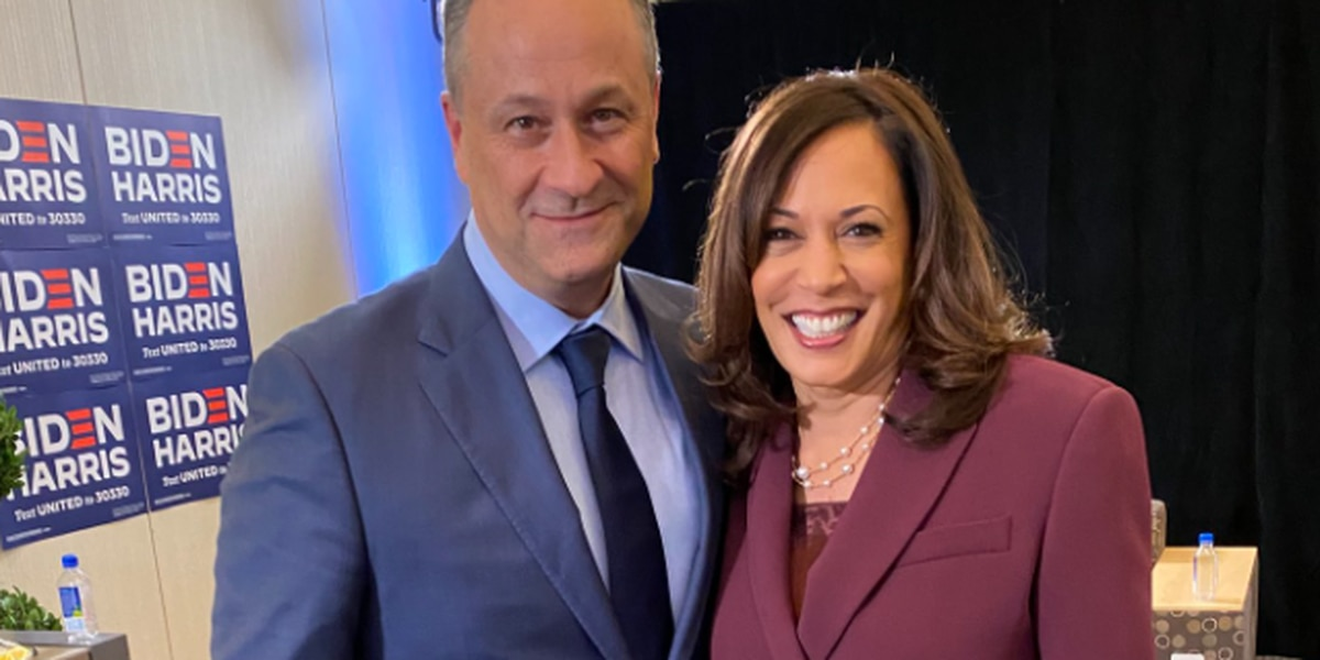 Husband of Kamala Harris to campaign in Wilmington today
