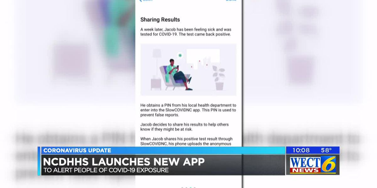 NCDHHS launches new app to help slow the spread of COVID-19