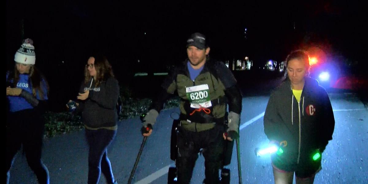Paralyzed S.C. man completes Charleston Marathon, breaks Guinness World Record