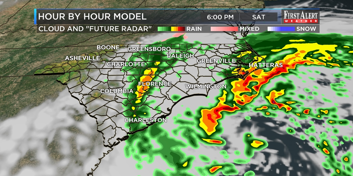 First Alert Forecast: gusty winds and showers to wrap the weekend