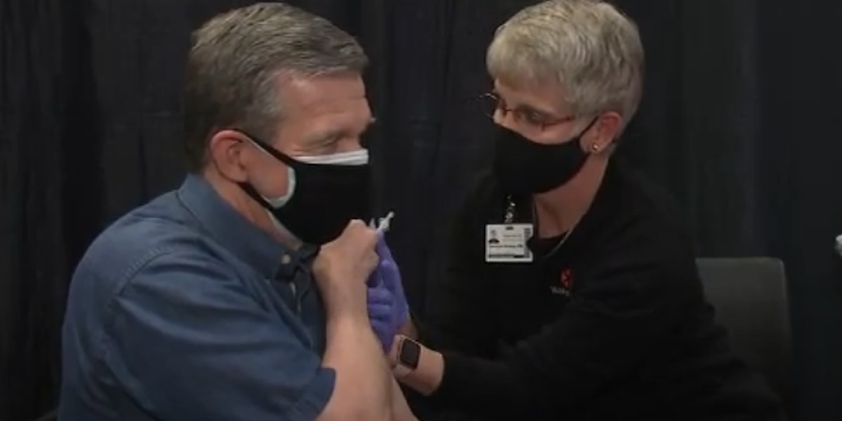 Gov. Cooper gets vaccinated on anniversary of first COVID-19 case in NC
