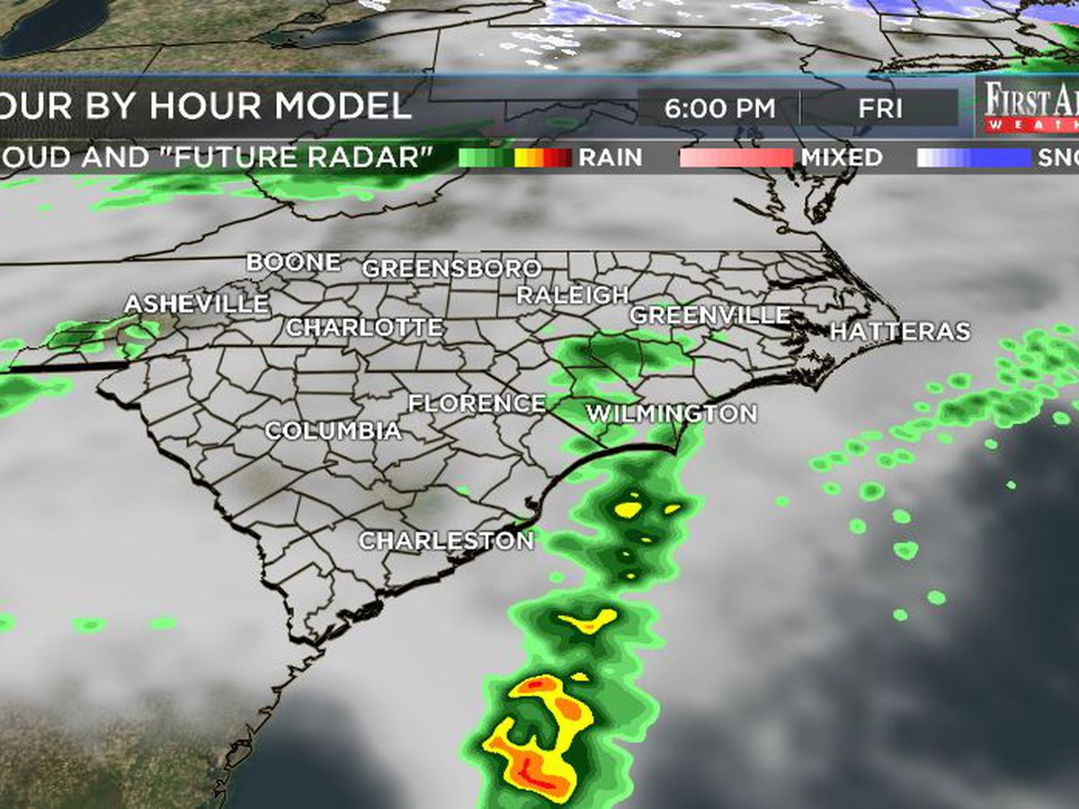 First Alert Forecast: rain chances return to Cape Fear Region