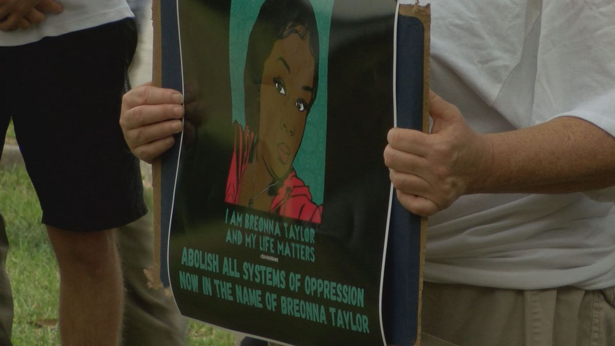 Black Lives Matter Wilmington rallies for further justice in Breonna Taylor case