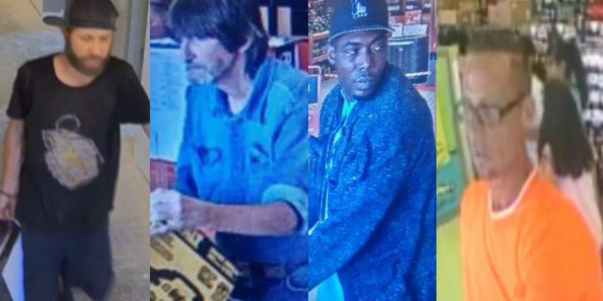 WPD looking for suspects in larcenies
