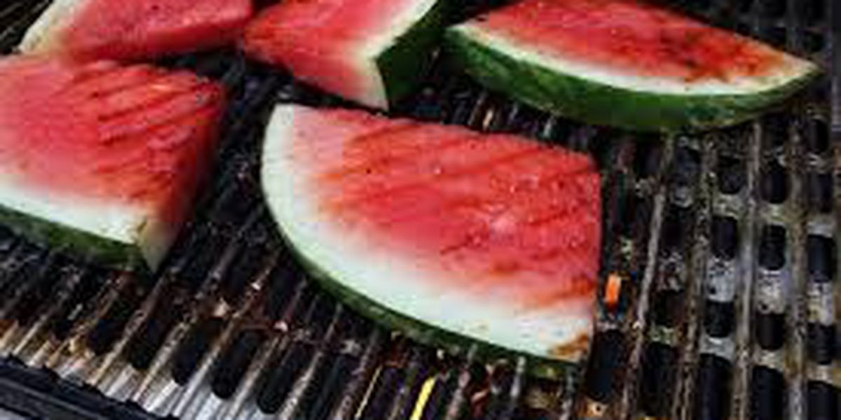 Bill's Grill: Hot and spicy grilled watermelon