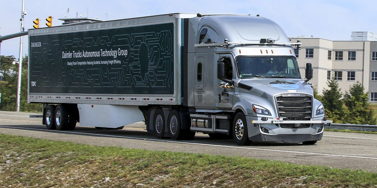 Company to test self-driving tractor-trailers on Va. roads