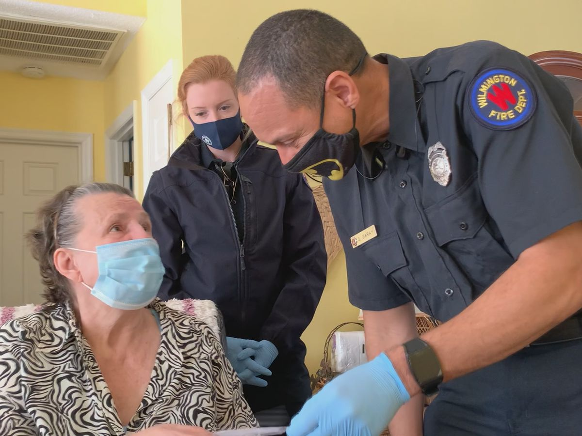 COVID-19 strike teams vaccinate homebound seniors in New Hanover County