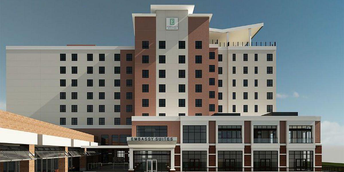 Harmony Hospitality breaks ground on Wilmington Convention Center hotel