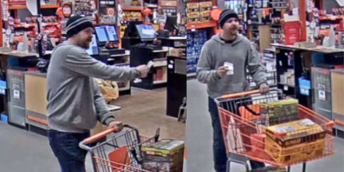 WPD looking for suspect in Home Depot larceny