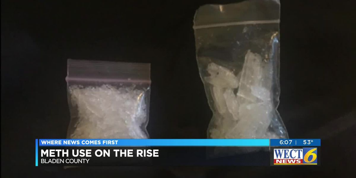 Methamphetamine use on the rise in Bladen County
