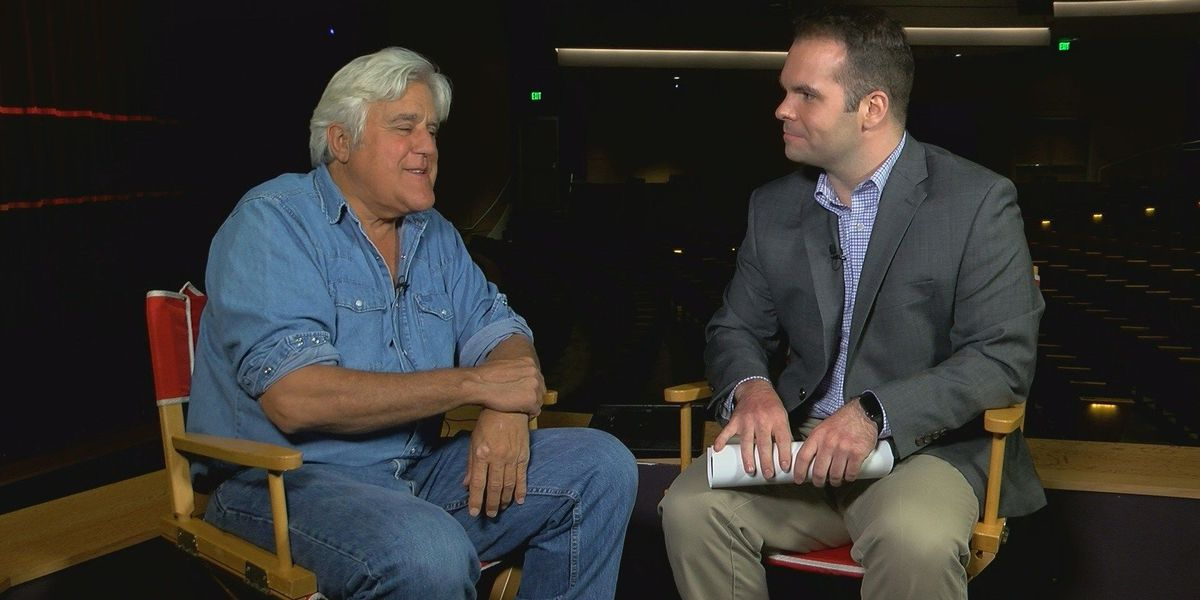 Jay Leno performs in Wilmington Tuesday to a packed house