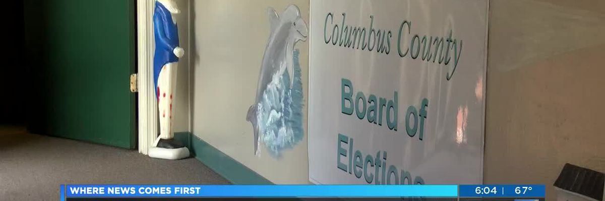 Board of Elections director says human error likely caused Columbus Co. poll issues