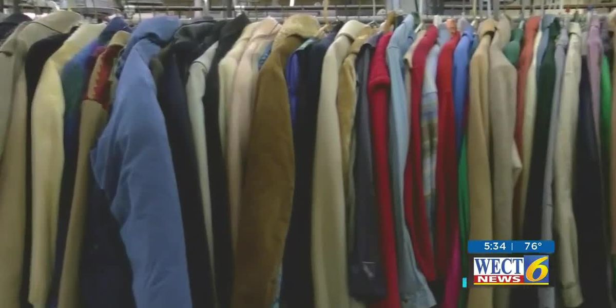 Donate gently used coats for people in need