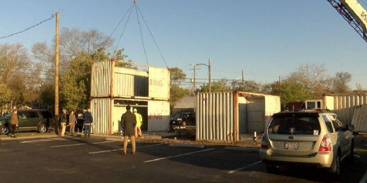 Developer builds shipping container neighborhood