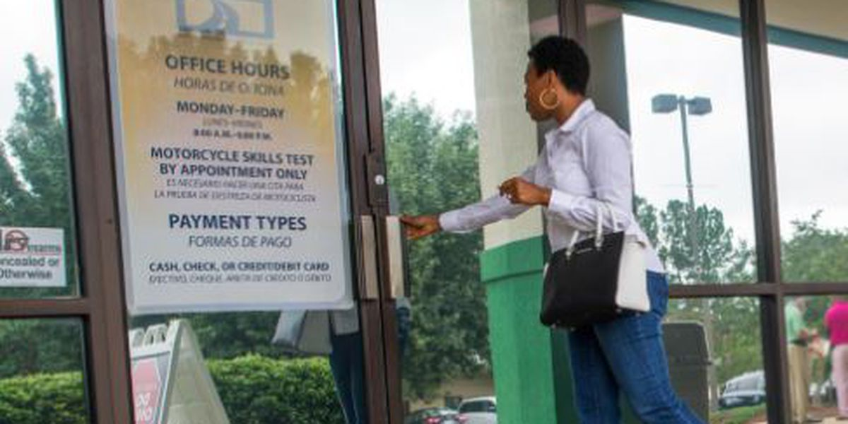Some DMV fees waived for those affected by Hurricane Florence