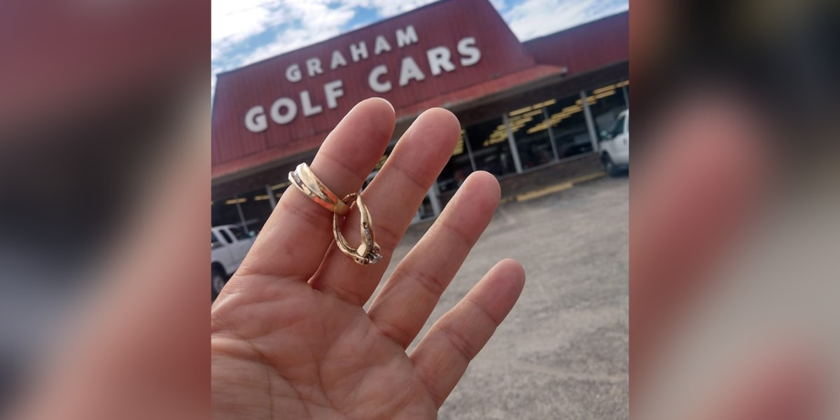 'God is great': Myrtle Beach vacationer reunited with rings dedicated to late wife