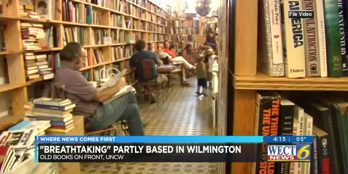 Author features Wilmington's gems in new novel