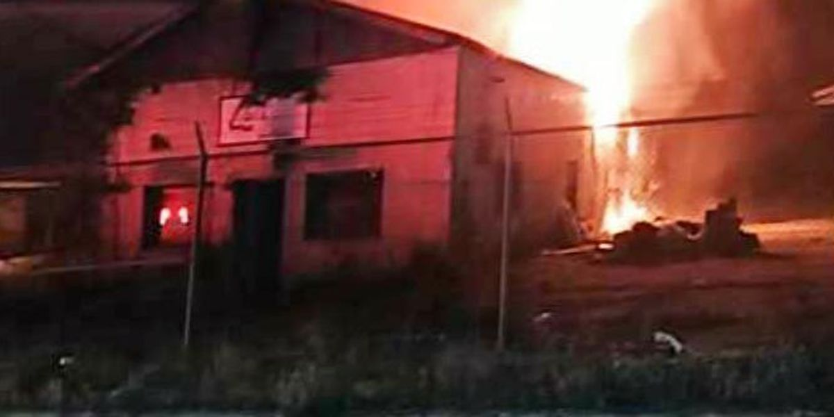 Warehouse in Whiteville heavily damaged by early morning fire