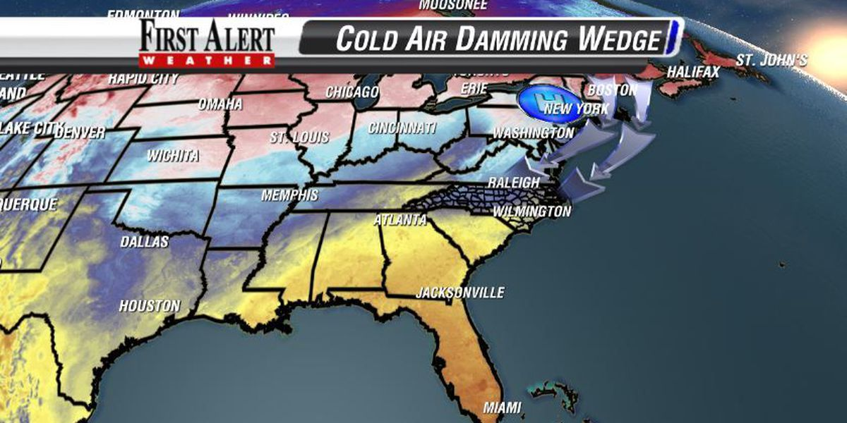 Weather 101: Cold Air Damming