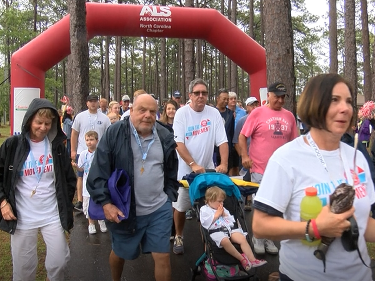 Hundreds walk to raise awareness about ALS