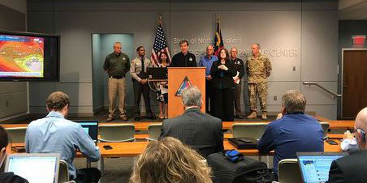 Cooper: Plan to be without power for days after Florence