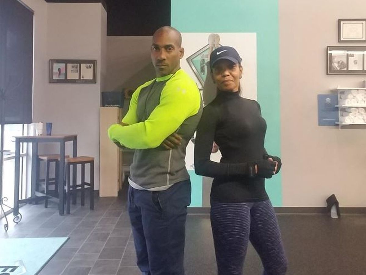 SQUAT CHALLENGE: News anchor, personal trainer pair up to take on YMCA