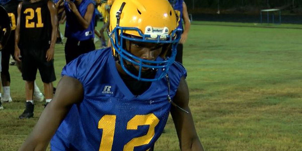 Laney football kicks season off with annual midnight practice