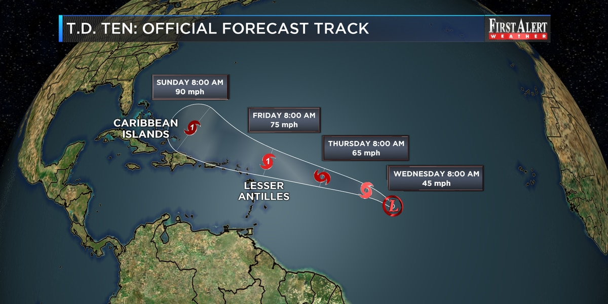 Bryan Says USVI Safe From Hurricane Jerry But Urges Vigilance