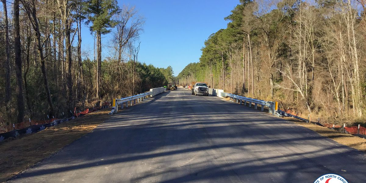 New bridge built after Hurricane Florence opens in Bladen County