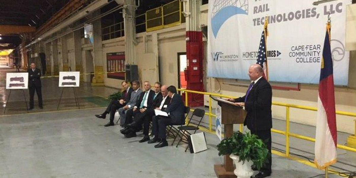 Vertex Rail to bring 1,300 jobs to Wilmington, invest $50 million in production facility