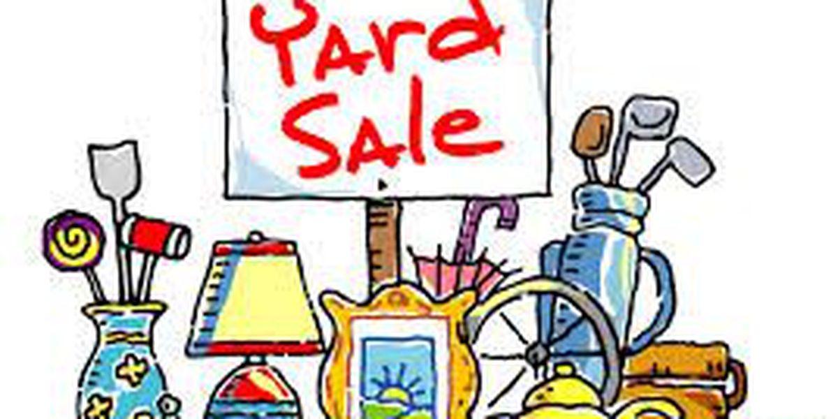 Yard sales for Saturday Nov. 8