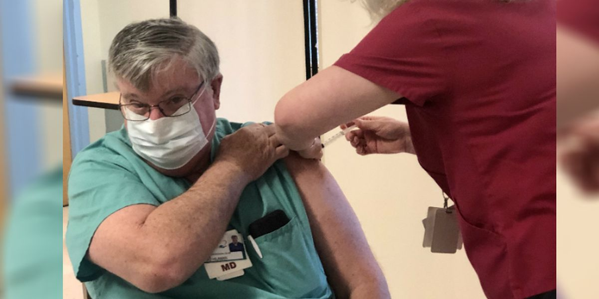 A 'significant moment': Dosher Memorial begins vaccinations of its frontline healthcare workers