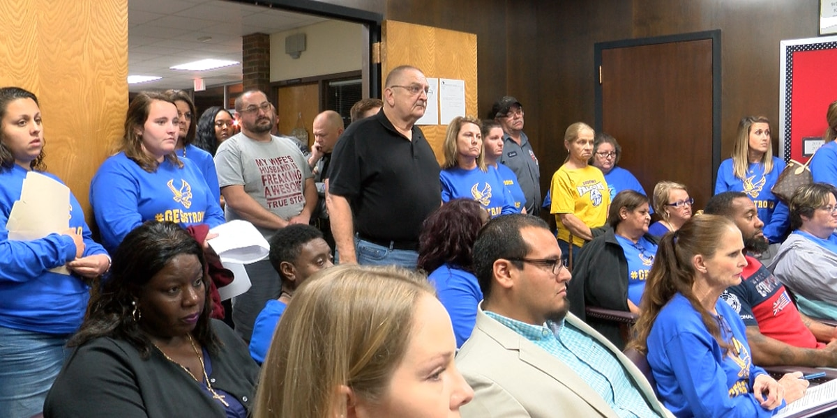 Columbus County parents outraged over talks of school closures