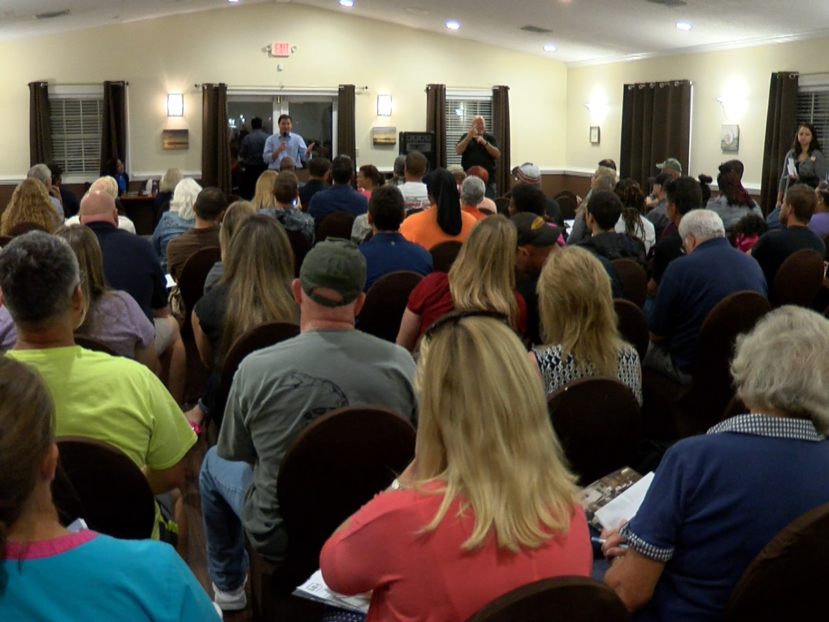 More than 100 attend Cross Creek community information session with FEMA, SBA, and more