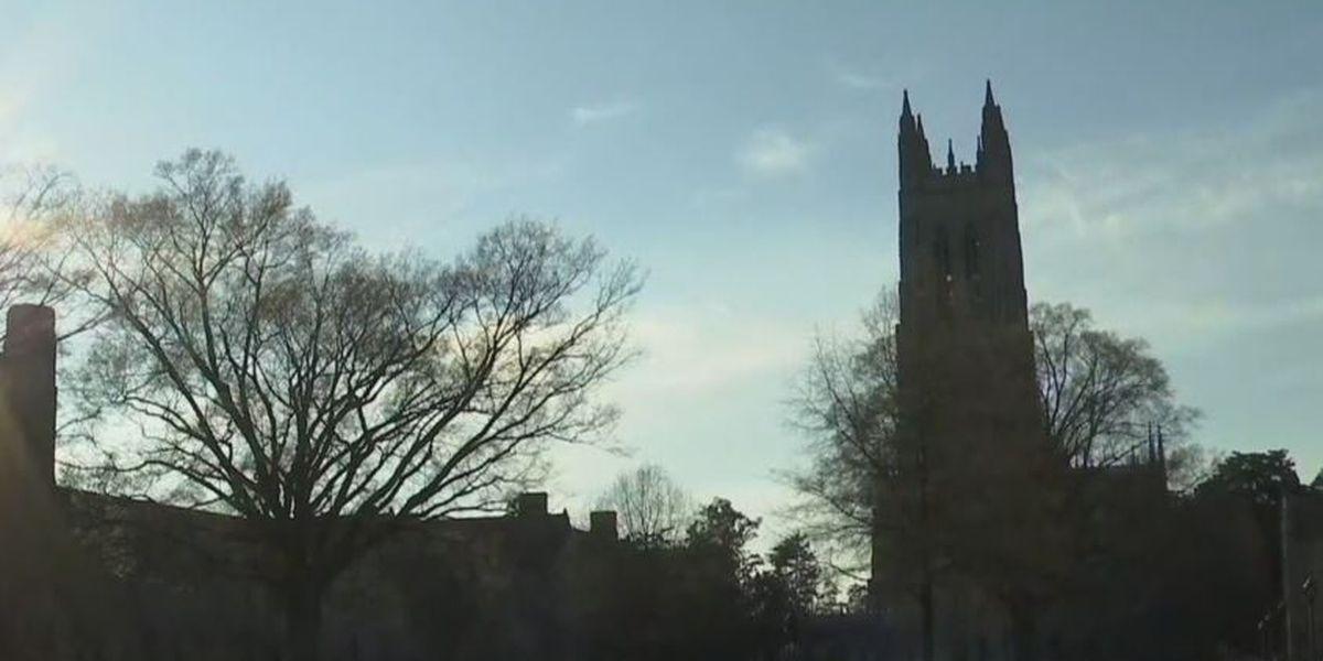 Duke University COVID-19 cases spread at slower rate