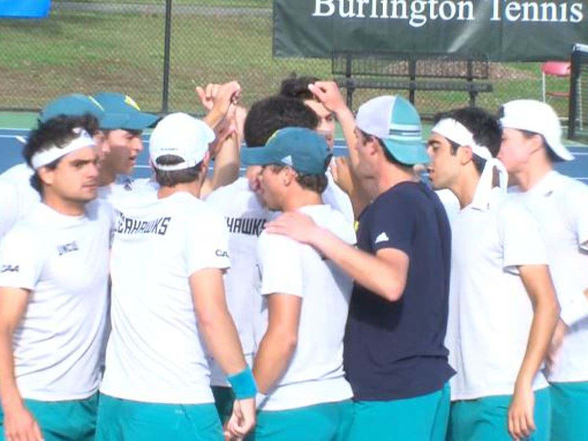 UNCW men's tennis moves on in CAA tournament