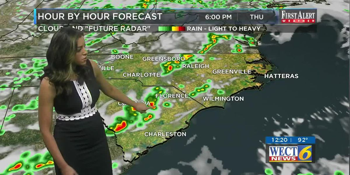 Your First Alert Forecast from Thu. afternoon June 20, 2019