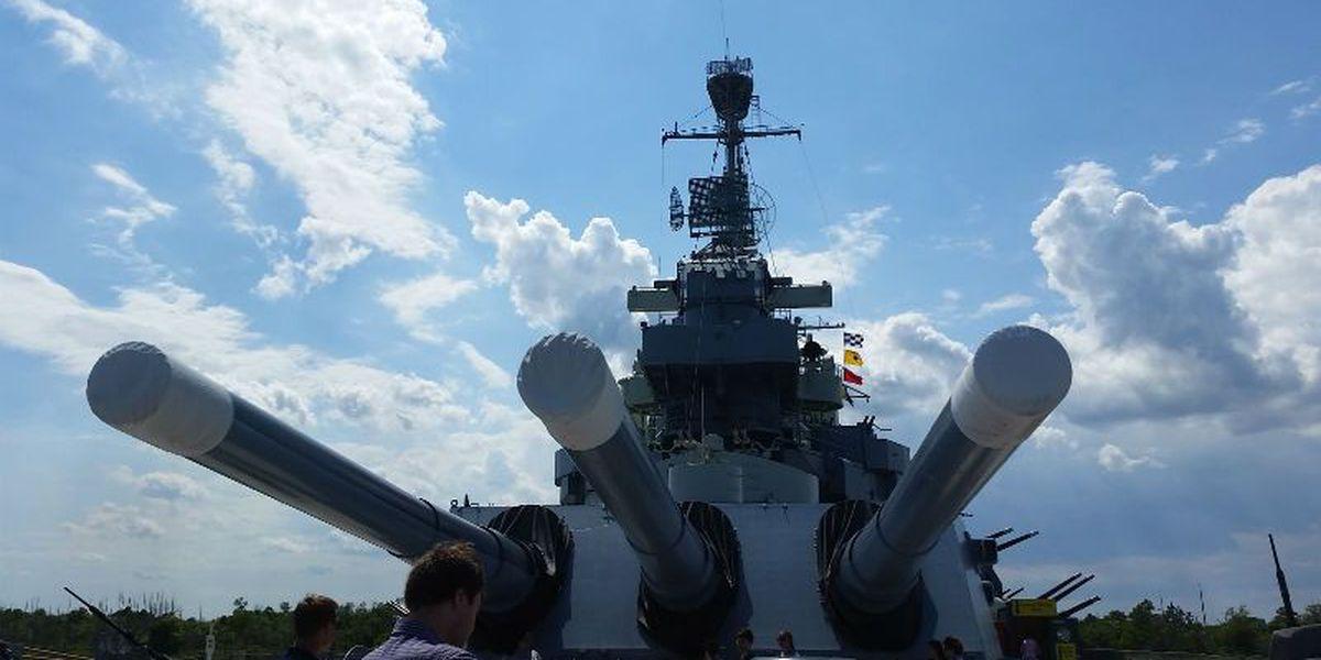 Battleship North Carolina celebration scheduled for April 9