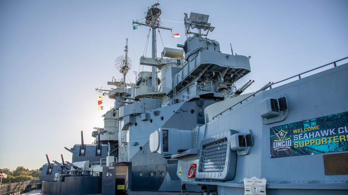 Battleship NC to open for visitors Tuesday