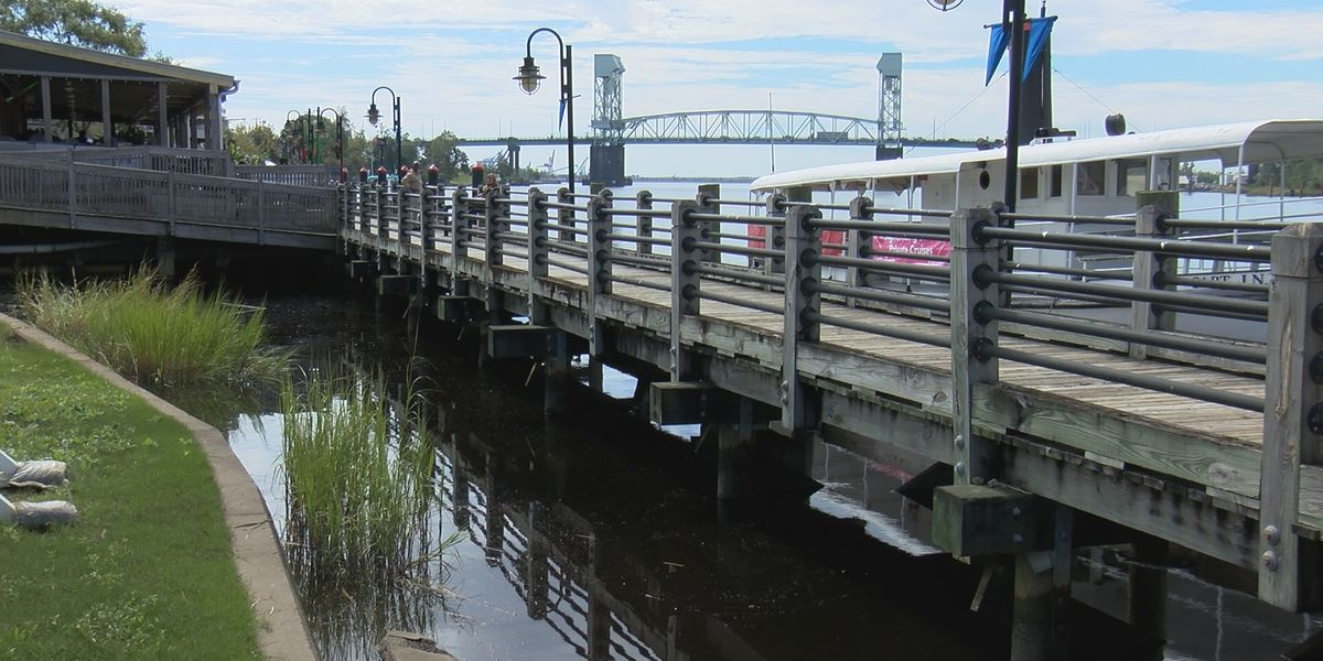 Downtown Wilmington Riverwalk undergoing repairs