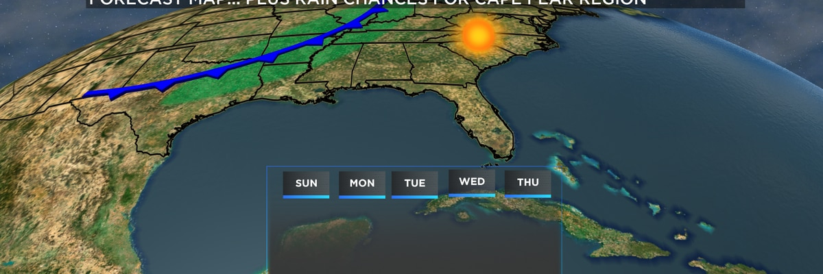 First Alert Forecast: sunny Sunday in store, warmer temperatures returning