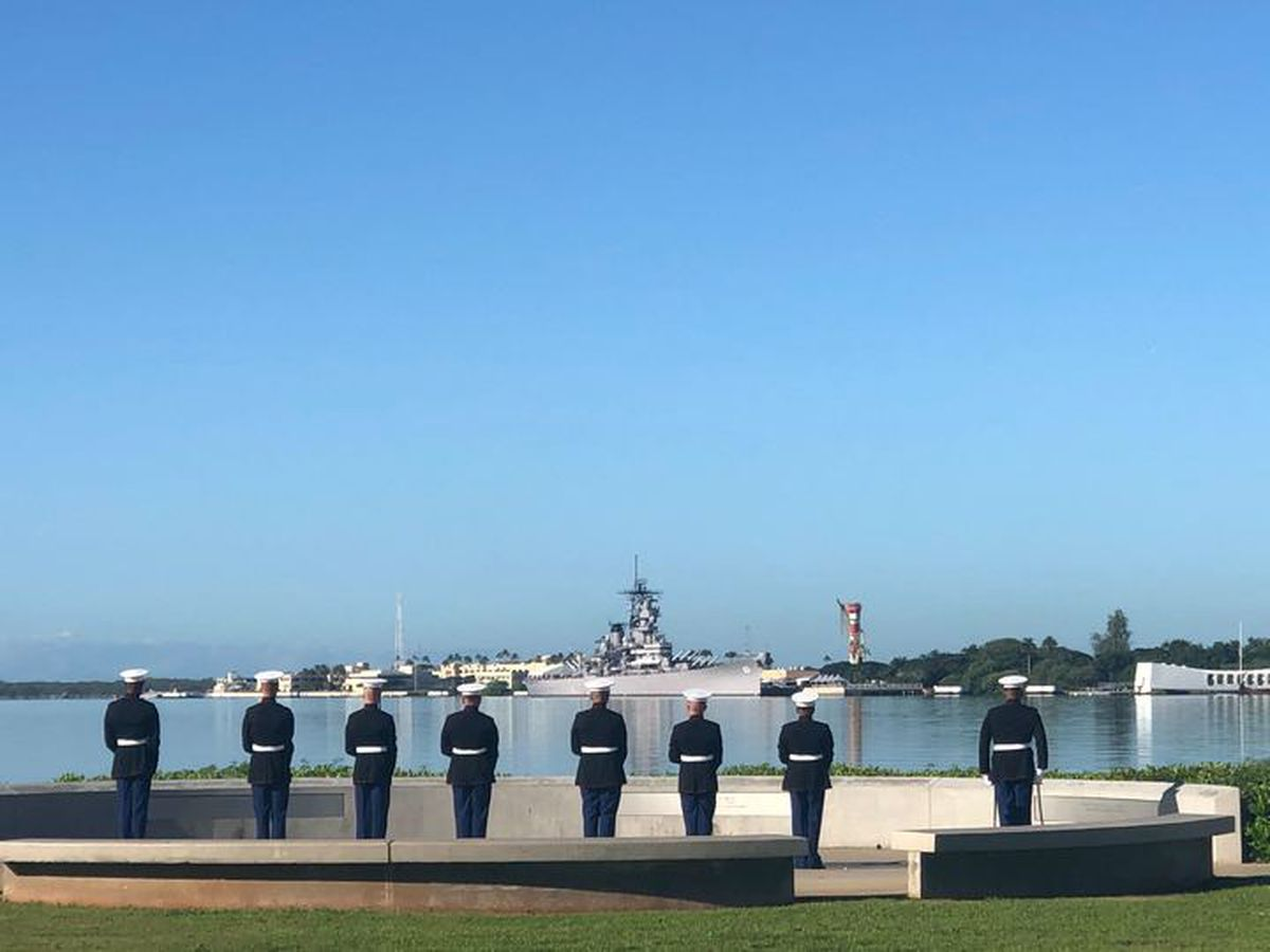 Pearl Harbor Day commemoration takes place in Wilmington