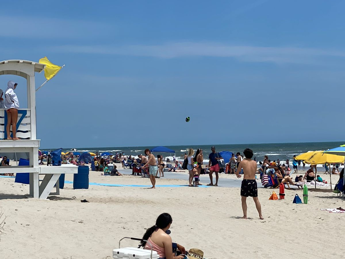 Carolina Beach Ocean Rescue responds to dozens of water rescues Memorial Day Weekend
