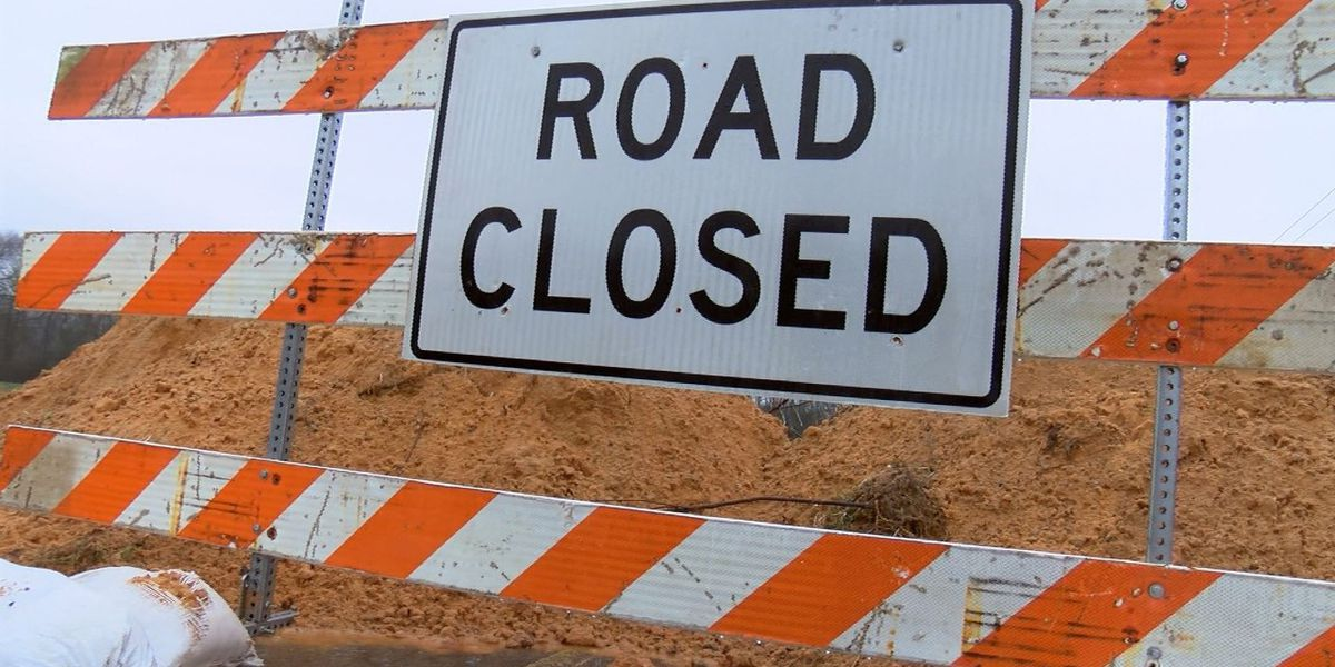 Replacement of railroad crossings to require road closures in Brunswick Co.