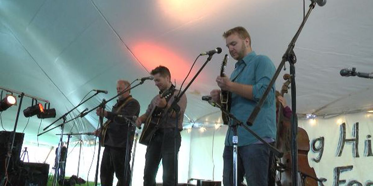 Enjoy the sounds of Bluegrass and the taste of BBQ at a weekend festival